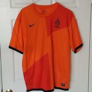 XXL Nike Netherlands Soccer Jersey